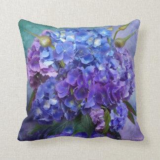 Almohada del diseñador del arte del Hydrangea
