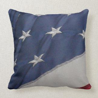 Almohada del diseño de la bandera americana