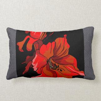 Almohada del diseño floral