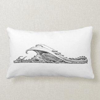 Almohada del dragón el dormir