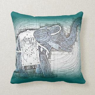 Almohada del elefante de tiro