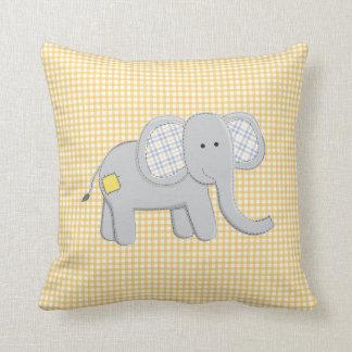 Almohada del elefante y del cocodrilo
