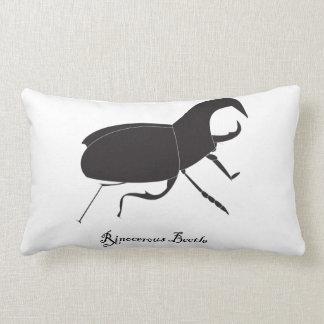 Almohada del escarabajo de Rino
