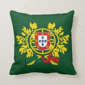 Almohada del escudo de armas de Portugal*
