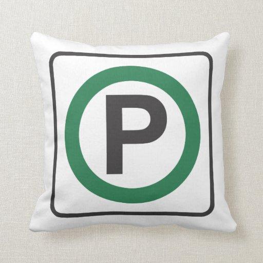 almohada del estacionamiento