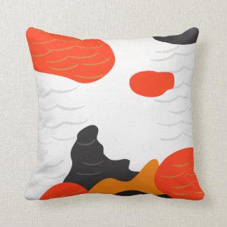Almohada del estilo de los pescados de Koi