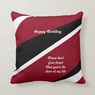 Almohada del feliz cumpleaños