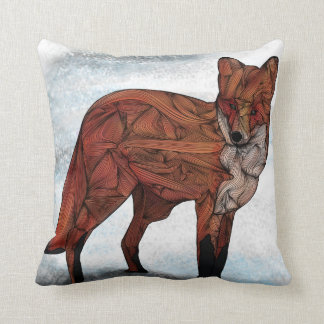 Almohada del Fox rojo