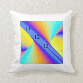 Almohada del fuego del arco iris del tiro