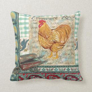 Almohada del gallo de Plymouth Rock