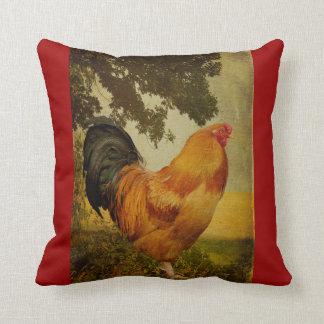 Almohada del gallo del gallo de Lois Bryan