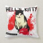 Almohada del gatito del infierno