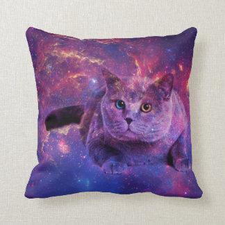 Almohada del gato de la galaxia