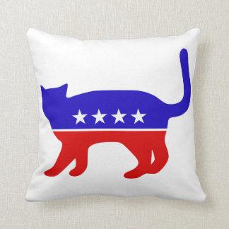 Almohada del gato del voto