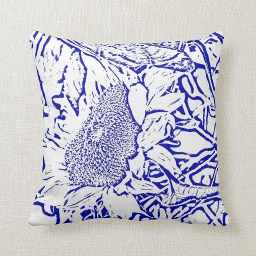 Almohada del girasol
