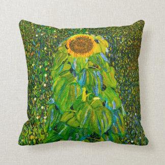 Almohada del girasol de Gustavo Klimt