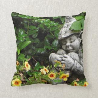 Almohada del gnomo del jardín cojín decorativo