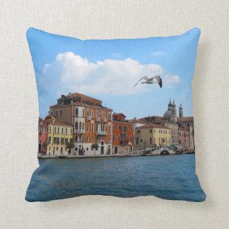 Almohada del Gran Canal de Venecia
