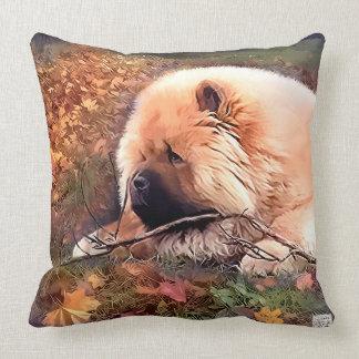 Almohada del heARTdog del perrito de Ollie Cojín Decorativo