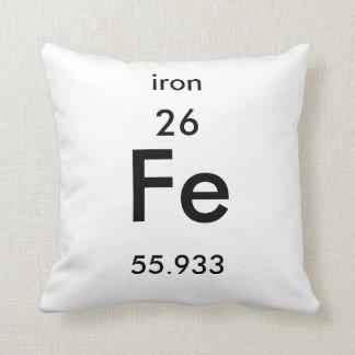 Almohada del hierro del cuadro periódico 26