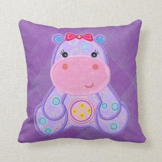 Almohada del hipopótamo de Henrietta