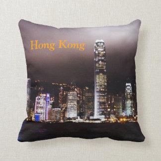 Almohada del horizonte de Hong Kong