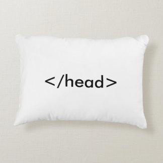 Almohada del HTML Cojín Decorativo