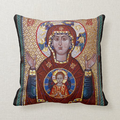 Almohada del icono de Oranta