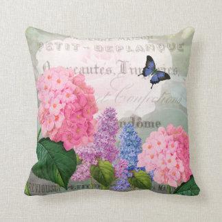 Almohada del jardín de flores de Redoute