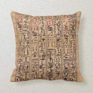 almohada del jeroglífico