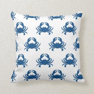 Almohada del lanzamiento del cangrejo azul