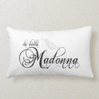 Almohada del Lumbar de Bella Madonna 13x21 del La