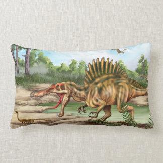 Almohada del Lumbar de la especie del dinosaurio