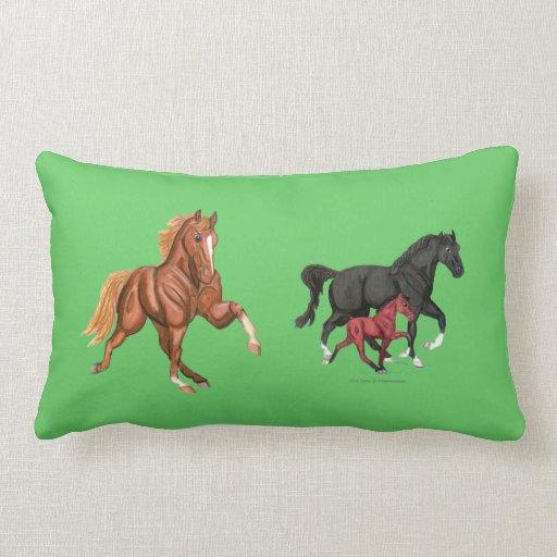 Almohada del Lumbar de los caballos de Tennessee q