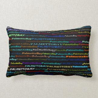 Almohada del Lumbar del diseño I del texto de la