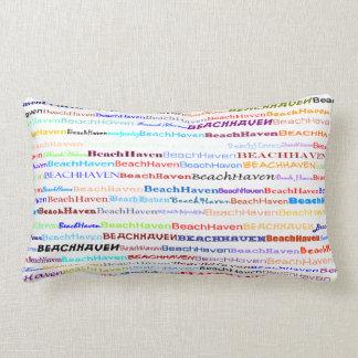 Almohada del Lumbar del diseño II del texto del as