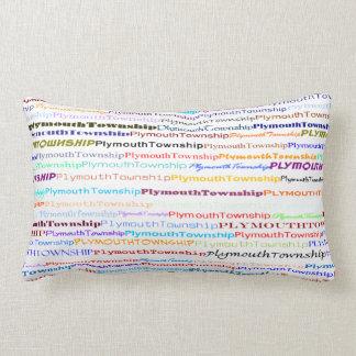 Almohada del Lumbar del diseño II del texto del