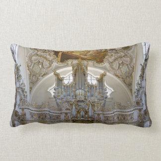 Almohada del lumbar del órgano de la abadía de