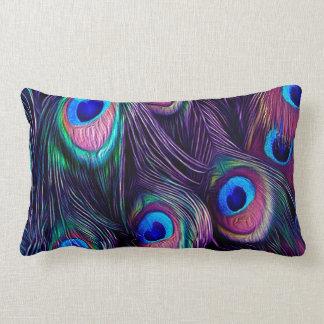Almohada del Lumbar del pavo real