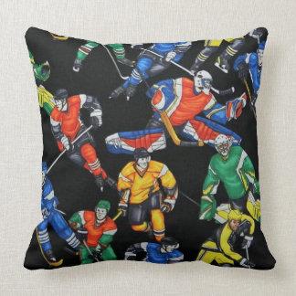 Almohada del modelo del hockey sobre hielo de la