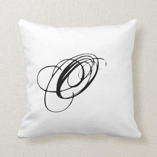 Almohada del monograma O