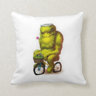 ¡Almohada del monstruo de la bici!