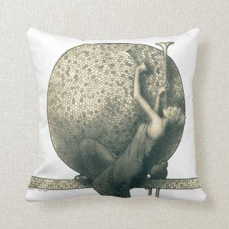 Almohada del mosaico de los instrumentos de los cu