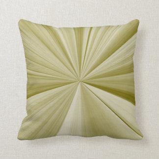 Almohada del nudo del pellizco del verde verde