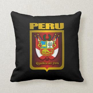 """""""Almohada del oro de Perú"""" Cojín"""