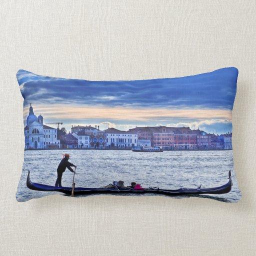 Almohada del paisaje de la góndola de Venezia Vene