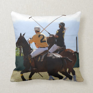 Almohada del partido del caballo del polo