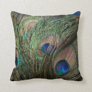 Almohada del pavo real cojín decorativo