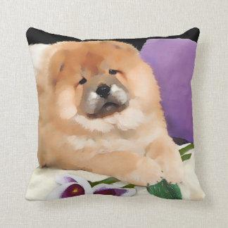 Almohada del perro chino del heARTdog de CALLIE Cojín Decorativo