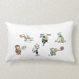 Almohada del personaje de dibujos animados del pan